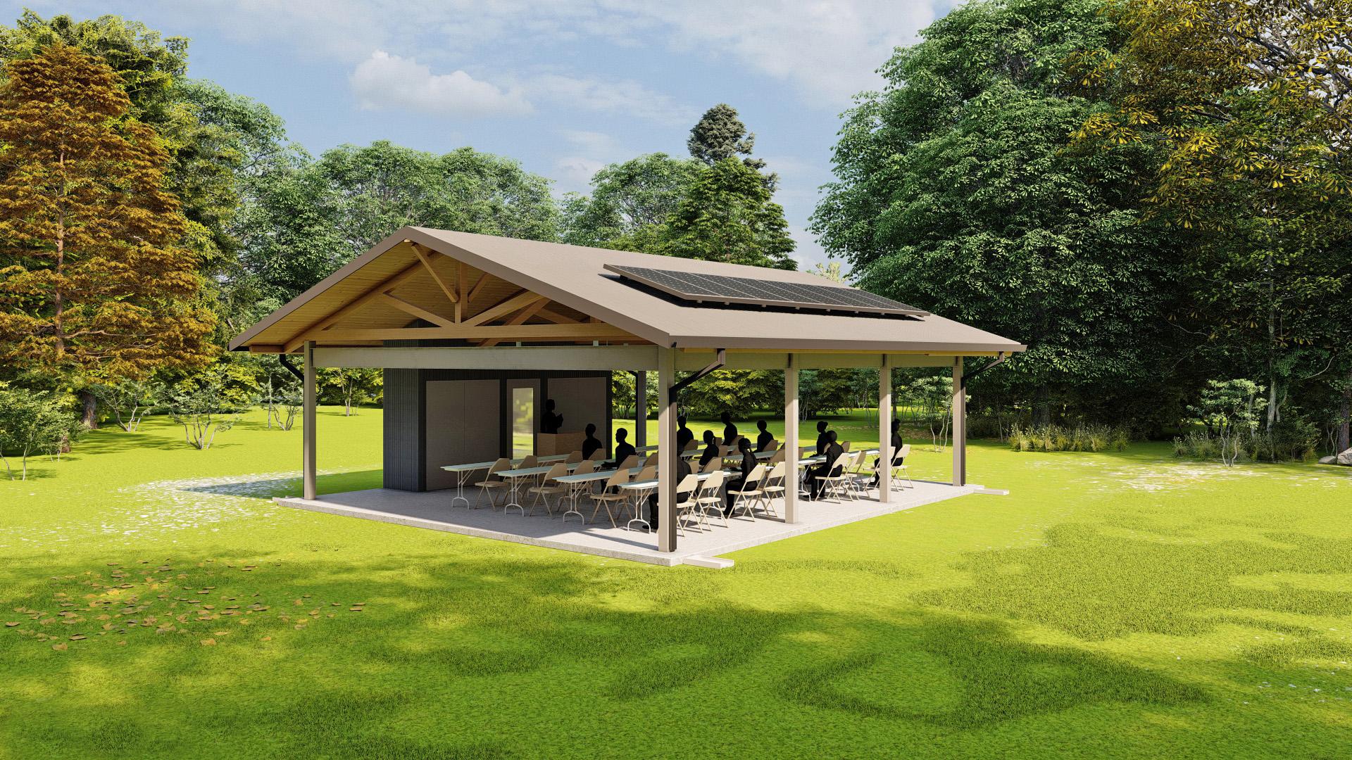 Pavilion Render