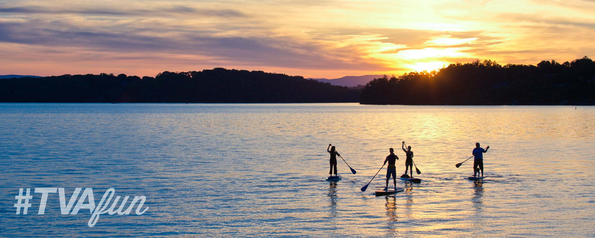 Sunset Paddling