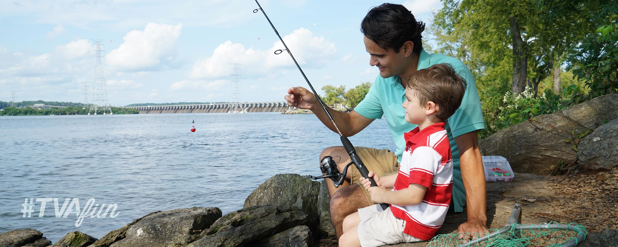 Fishing Dad and Son