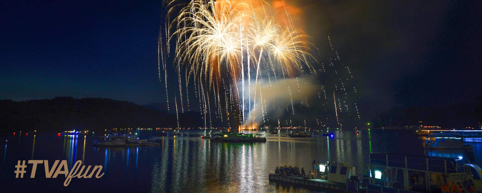 Fireworks on the Water