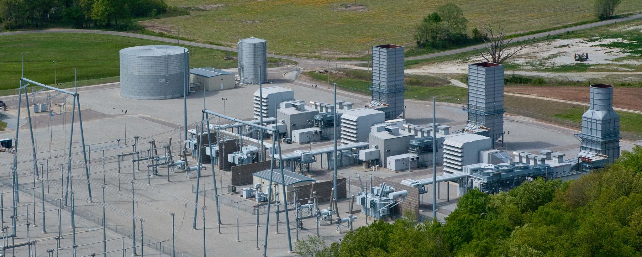 Gleason Combustion Turbine Plant