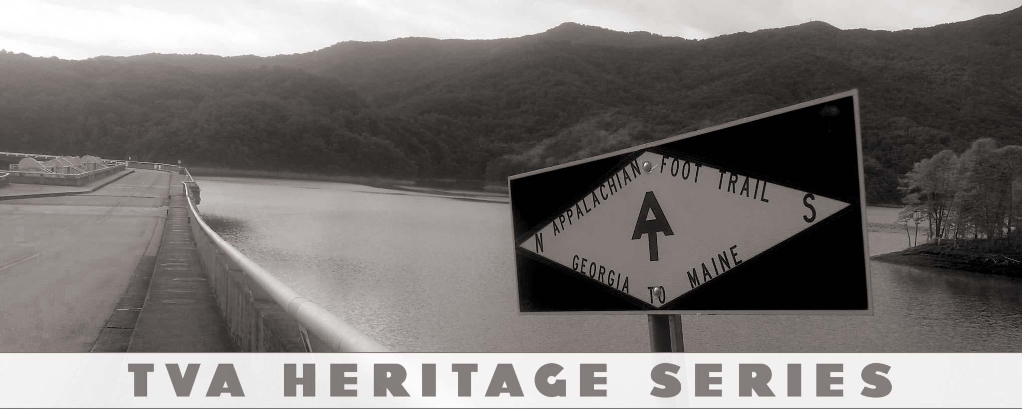 Appalachian Trail over the dam