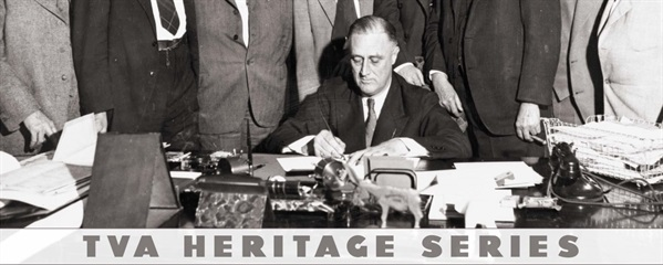 FDR signing TVA Act