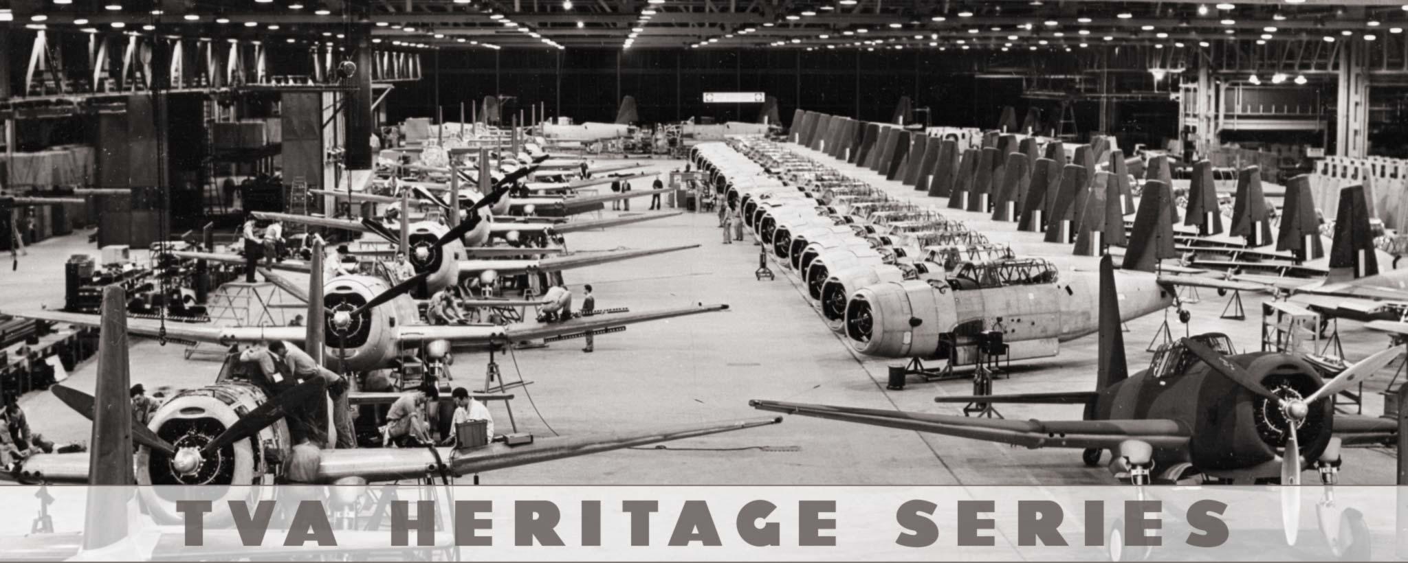 War plane factory