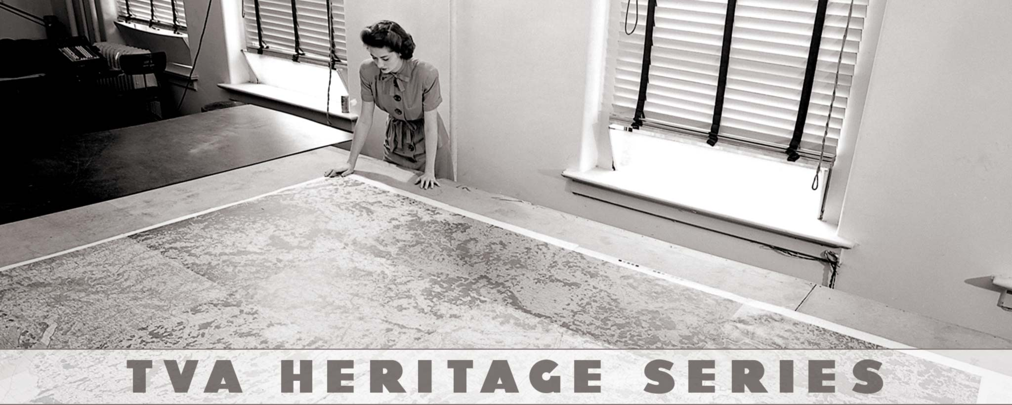 woman with large map