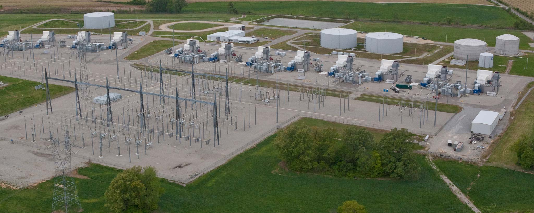Lagoon Creek Combustion Turbine Plant