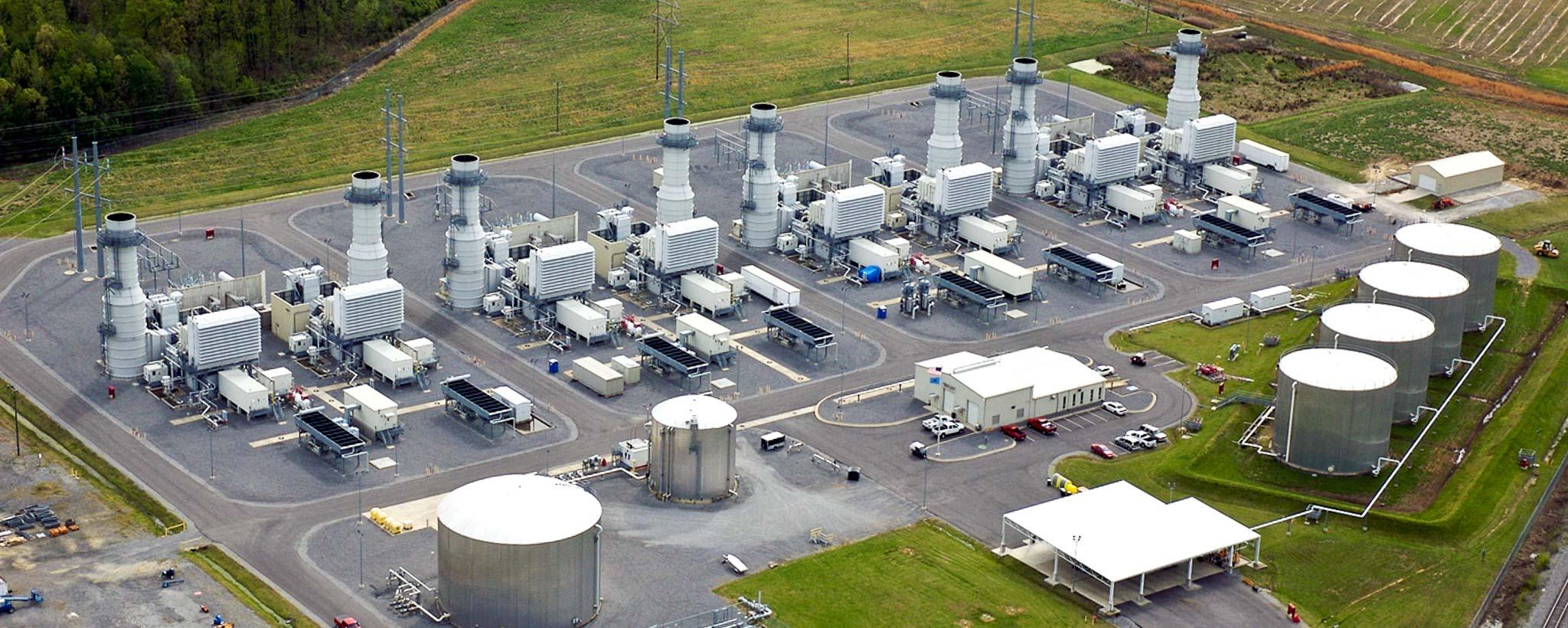 Marshall Combustion Turbine Plant