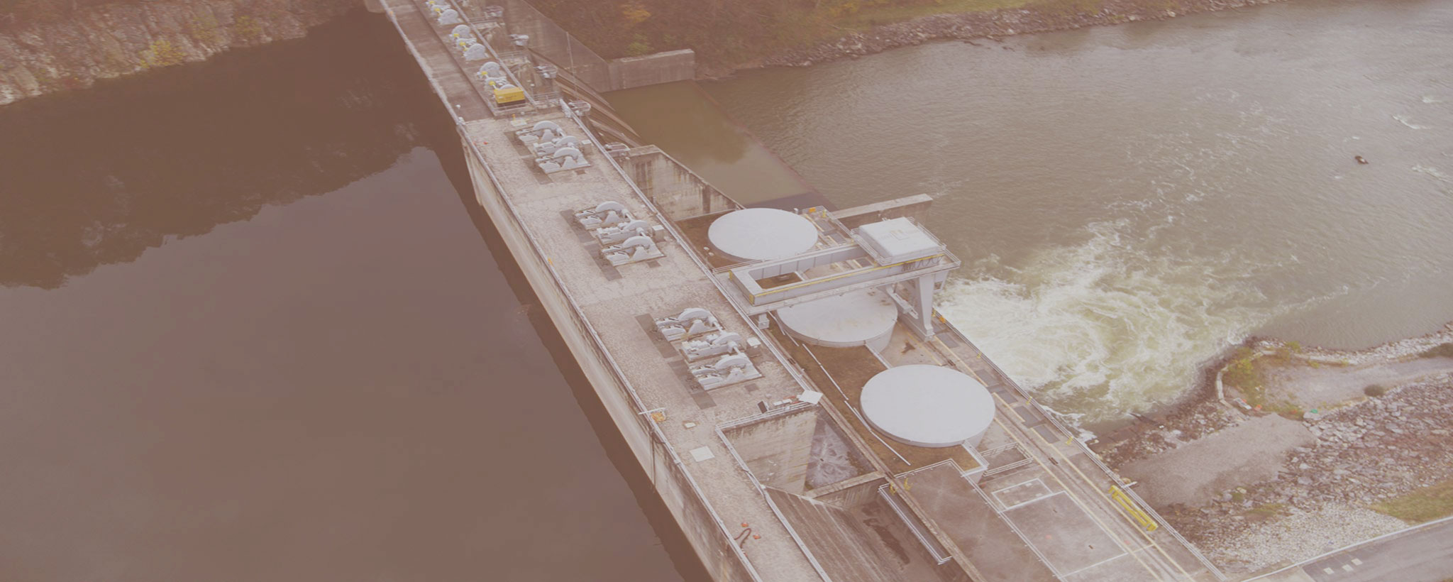 Boone Dam drone footage
