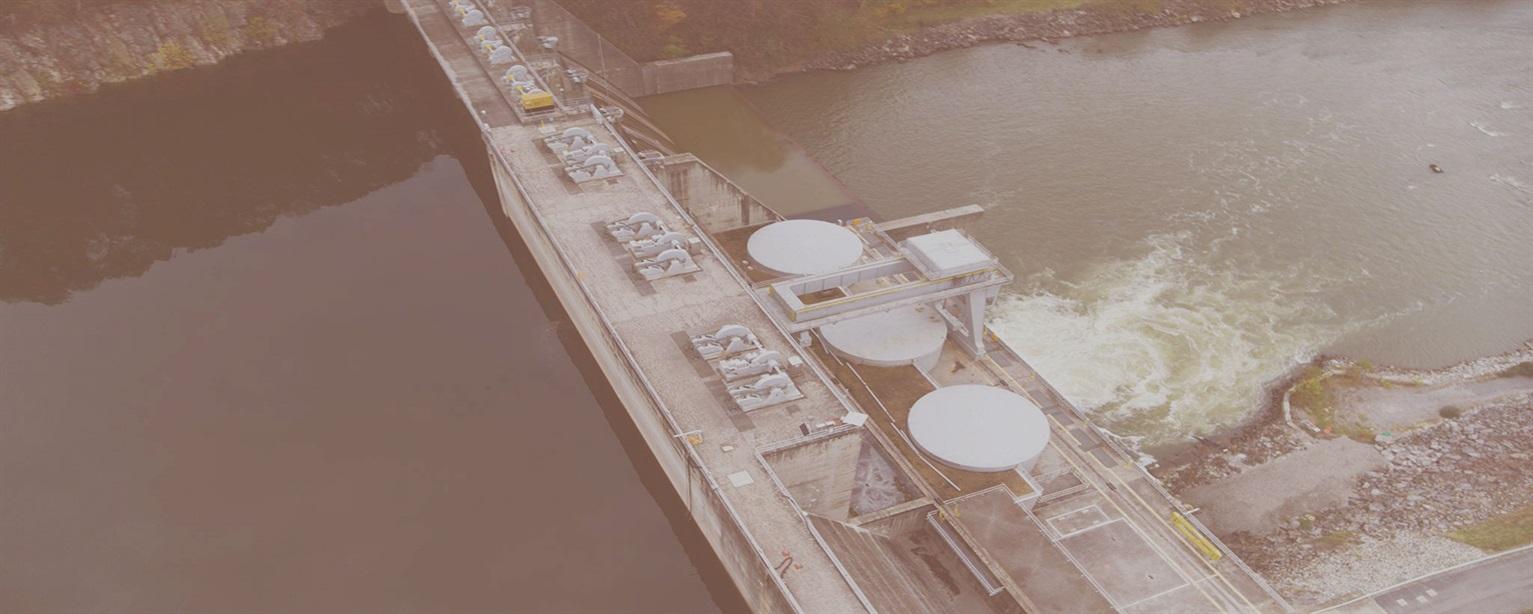 Boone Dam Project Drone