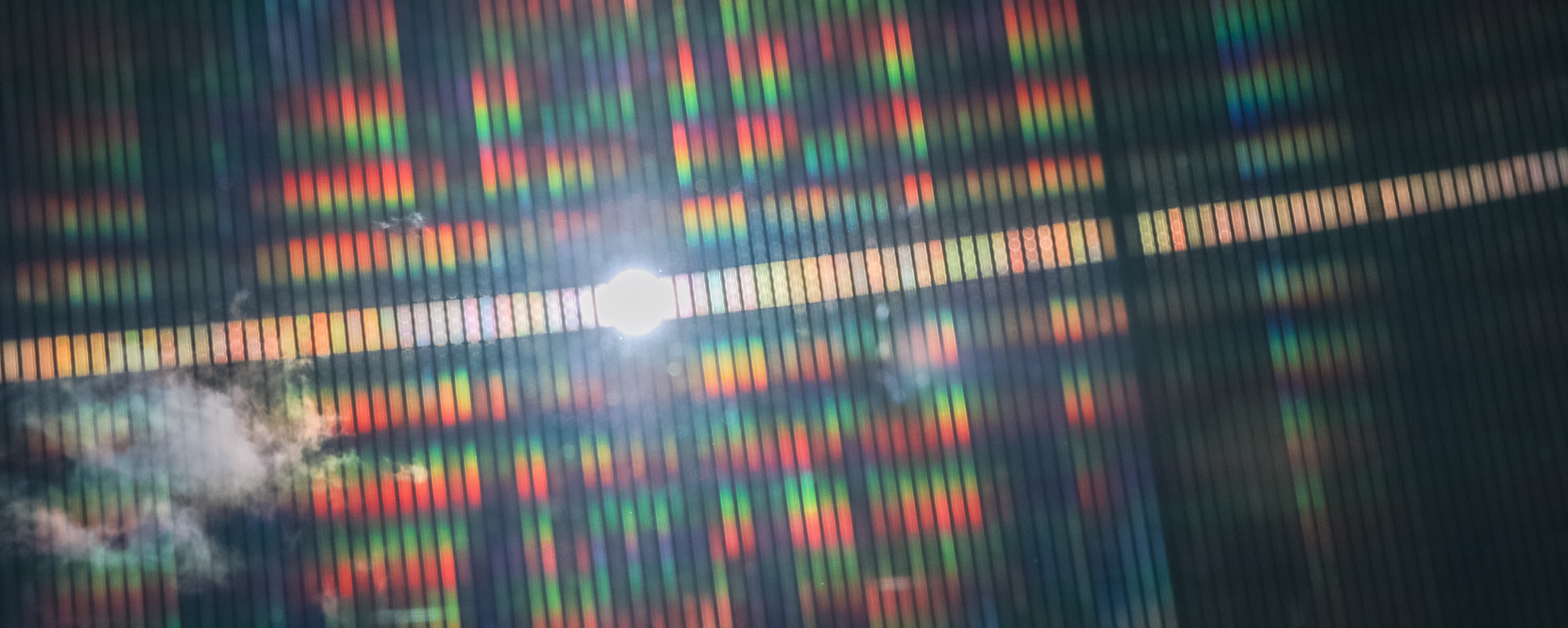 Solar Panel in the Sun