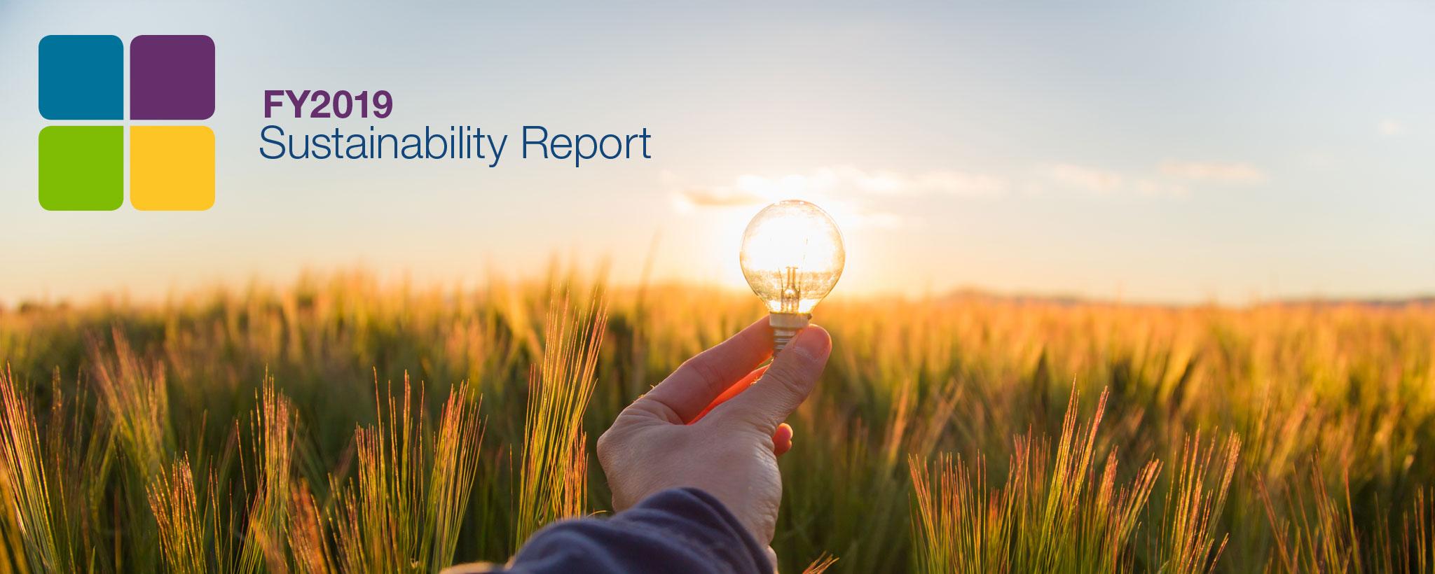 Sustainability report hero