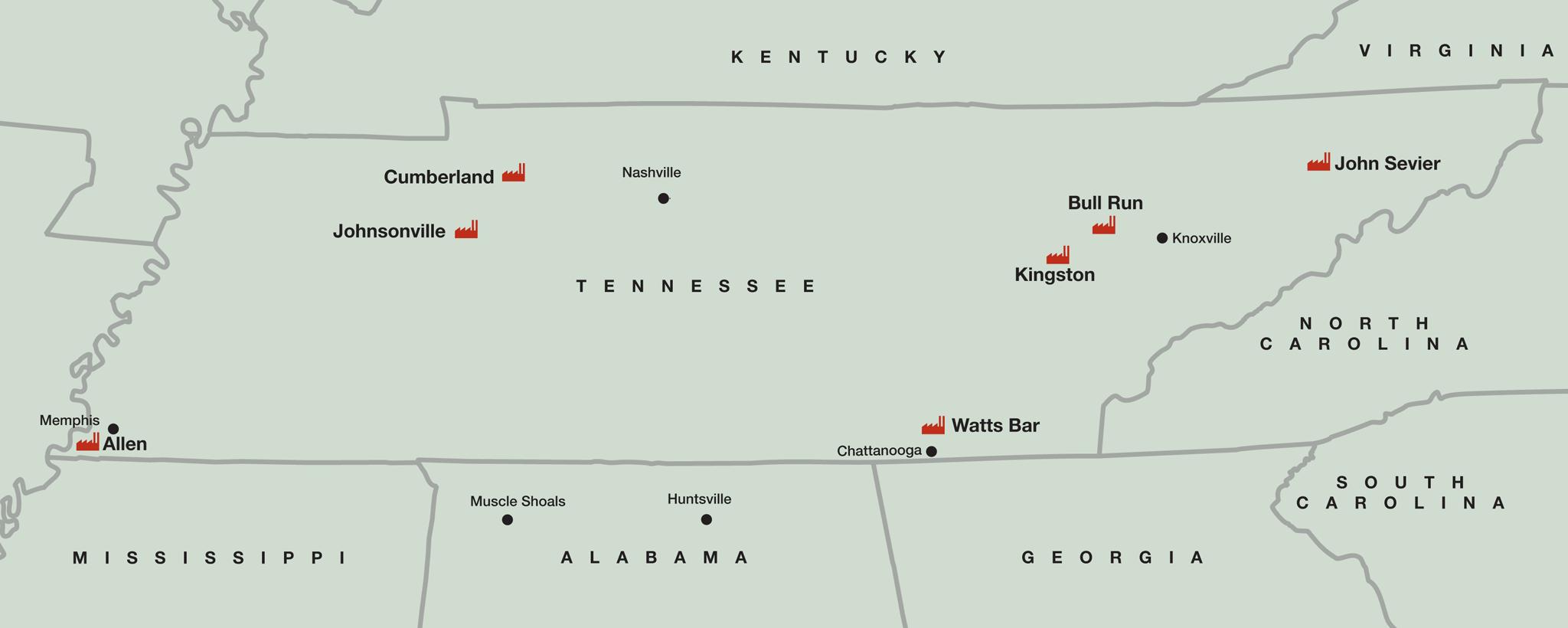 TDEC Map