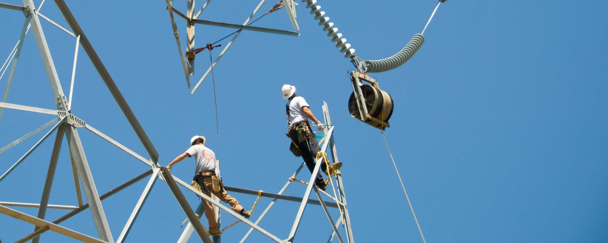 Transmission Tower Construction