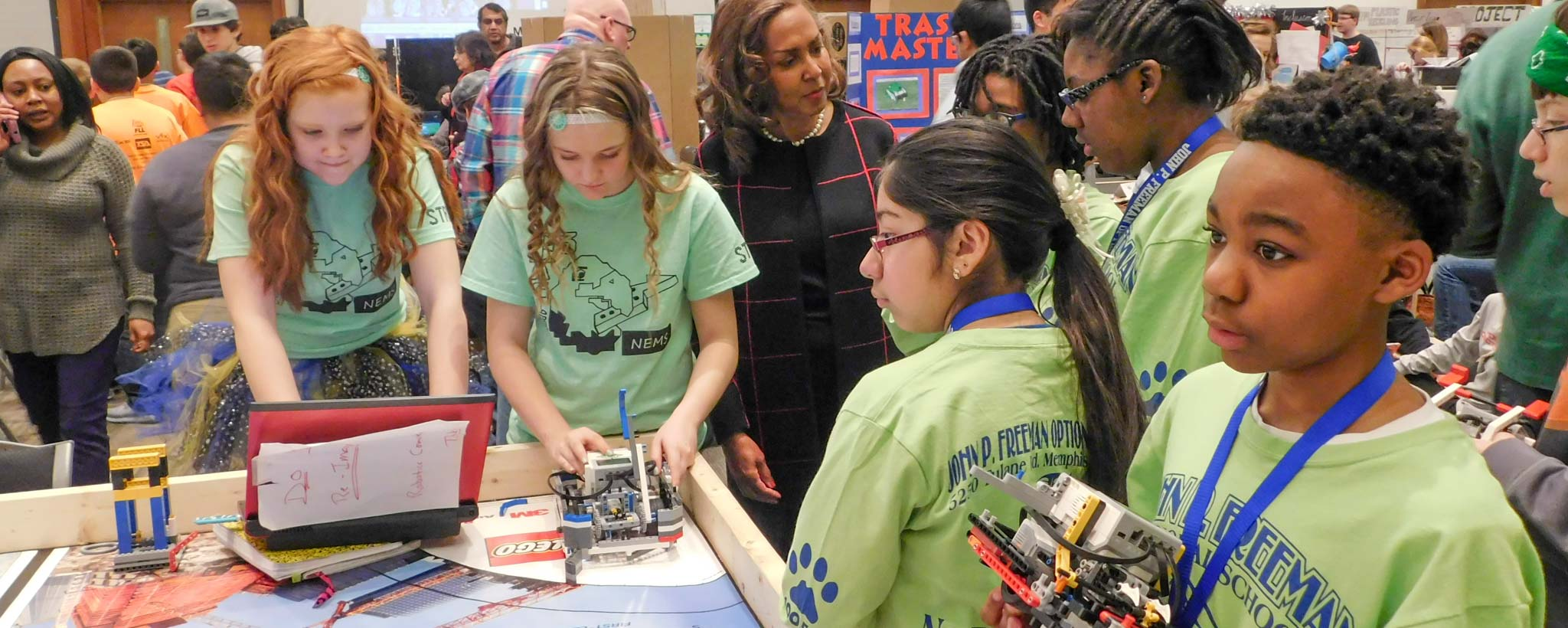 "TVA ""Amps Up"" Valley Robotics Programs"