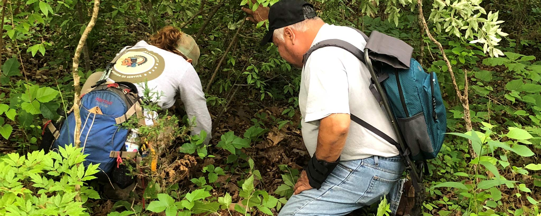 TVA archaeologist working with tribal partner