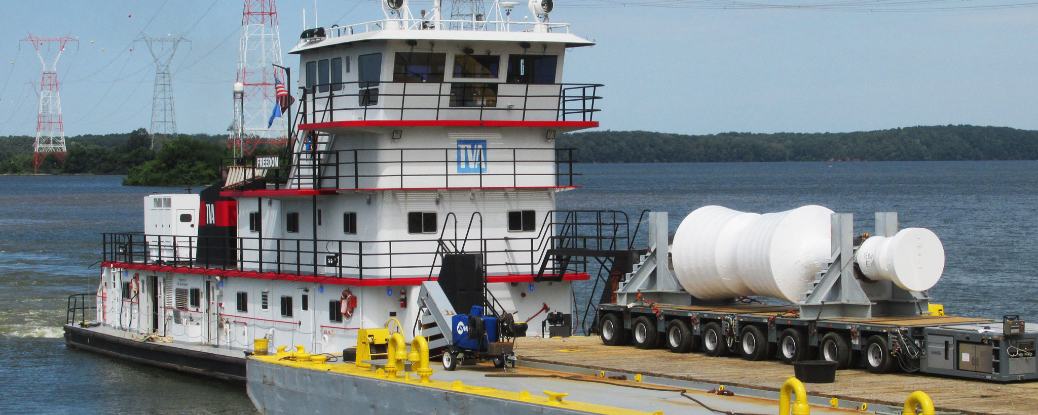 TVA Tug Boat with Generator