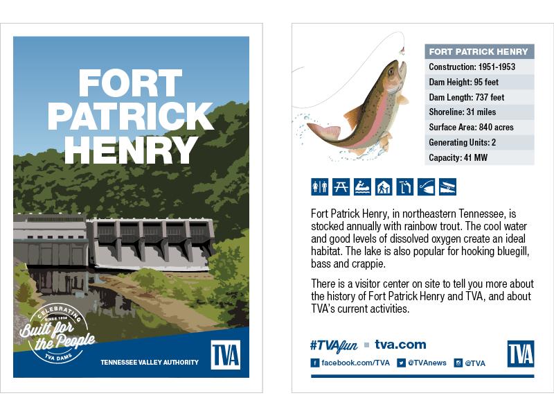 Fort Patrick Henry Dam