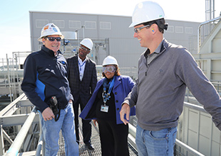 Memphis City Council Members Tour TVA Facilities