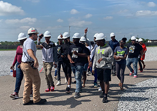 T.O. Fuller State Park Campers Explore STEM Careers at TVA's Allen Gas Plant
