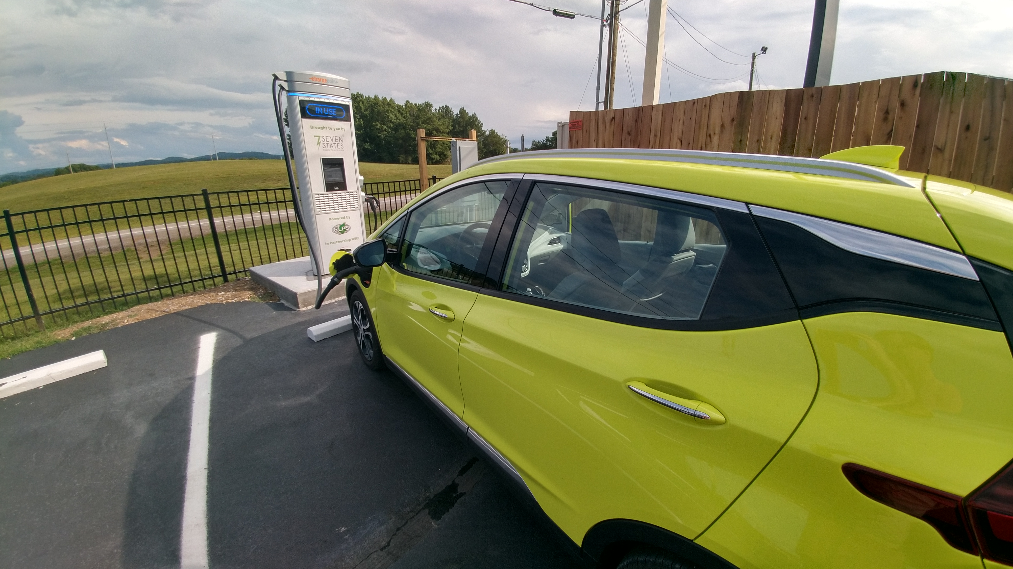 chevrolet bolt electric vehicle charging
