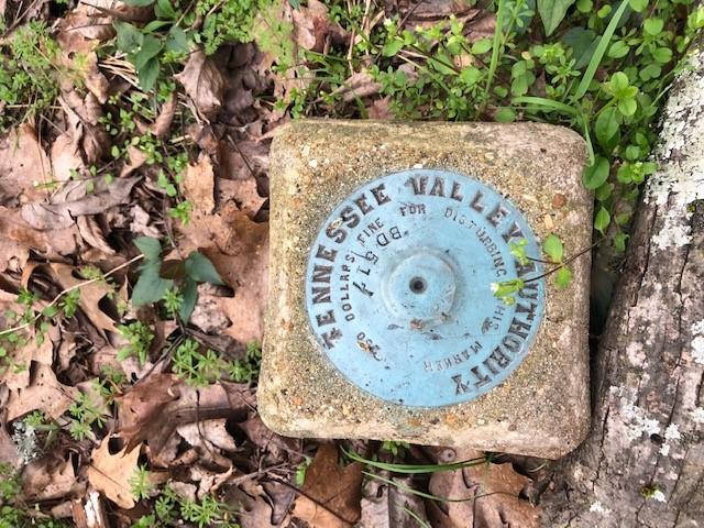 survey boundary marker