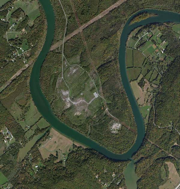 Aerial Photo of Clinch River Site