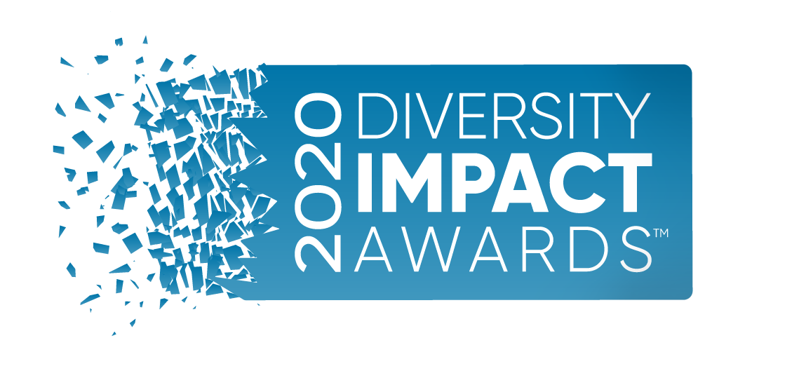 logo for diversity impact awards