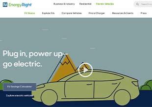 EnergyRight EV Site