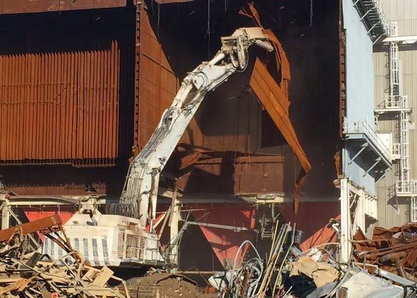John Sevier Demolition