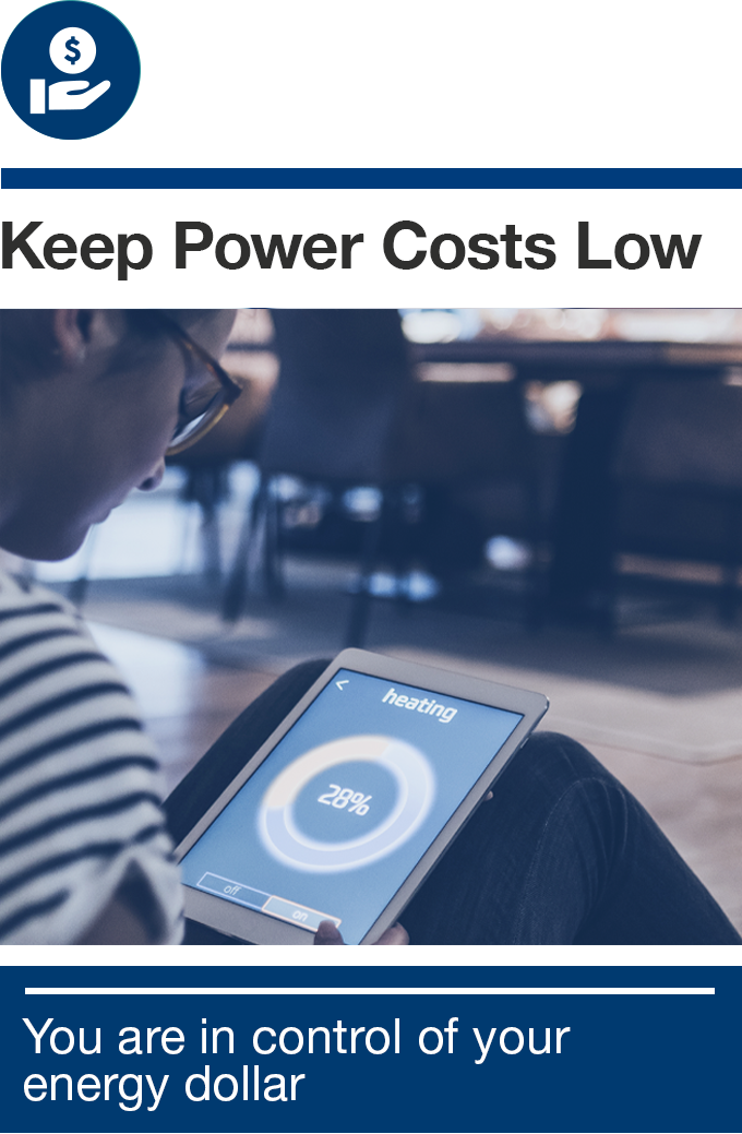 Keep Power Costs Lower