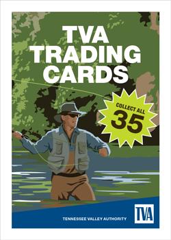 TVA Dam Trading Cards