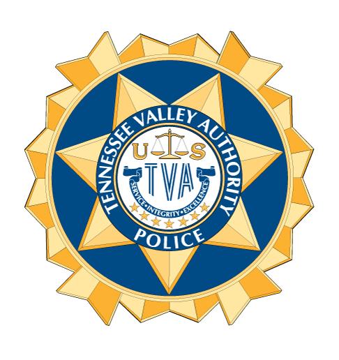 TVA Police Badge