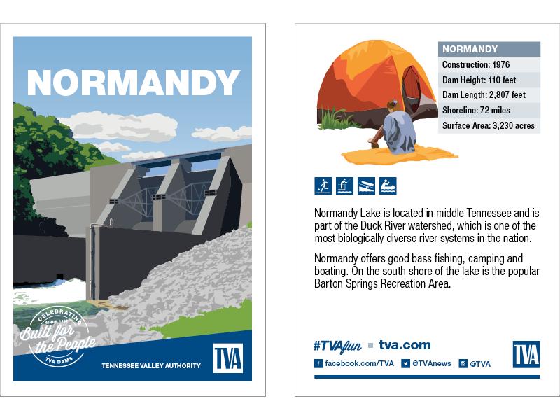 Normandy Dam