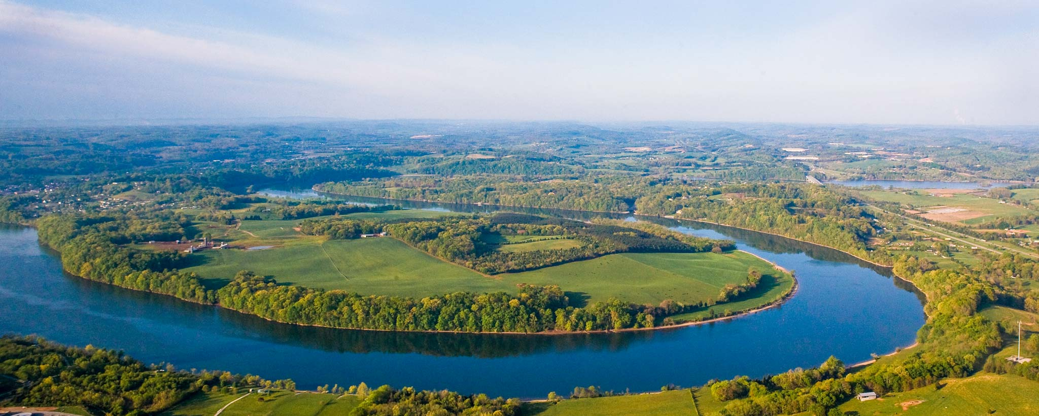 Tennessee River landscape