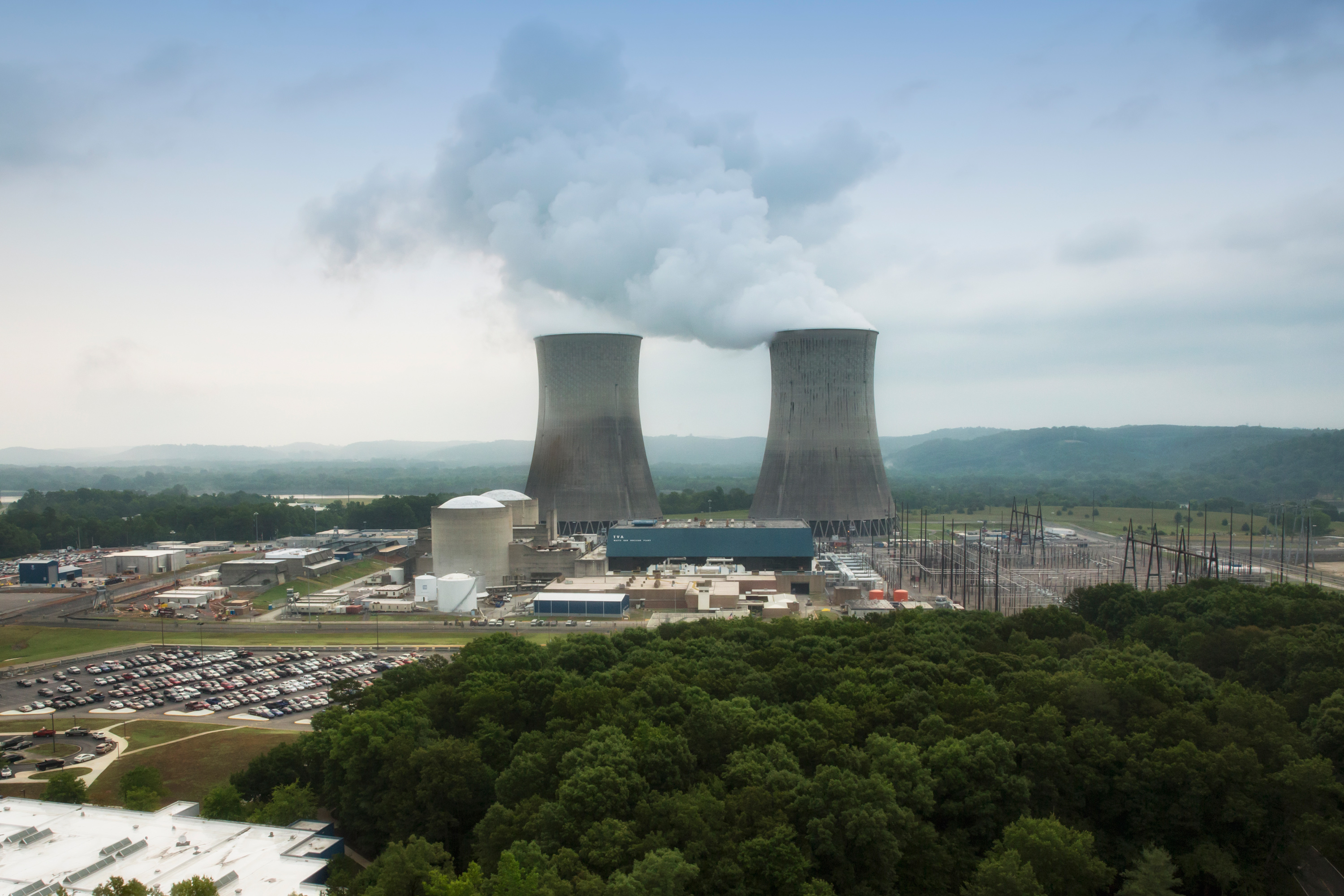 Watts Bar Unit 2 Aerial