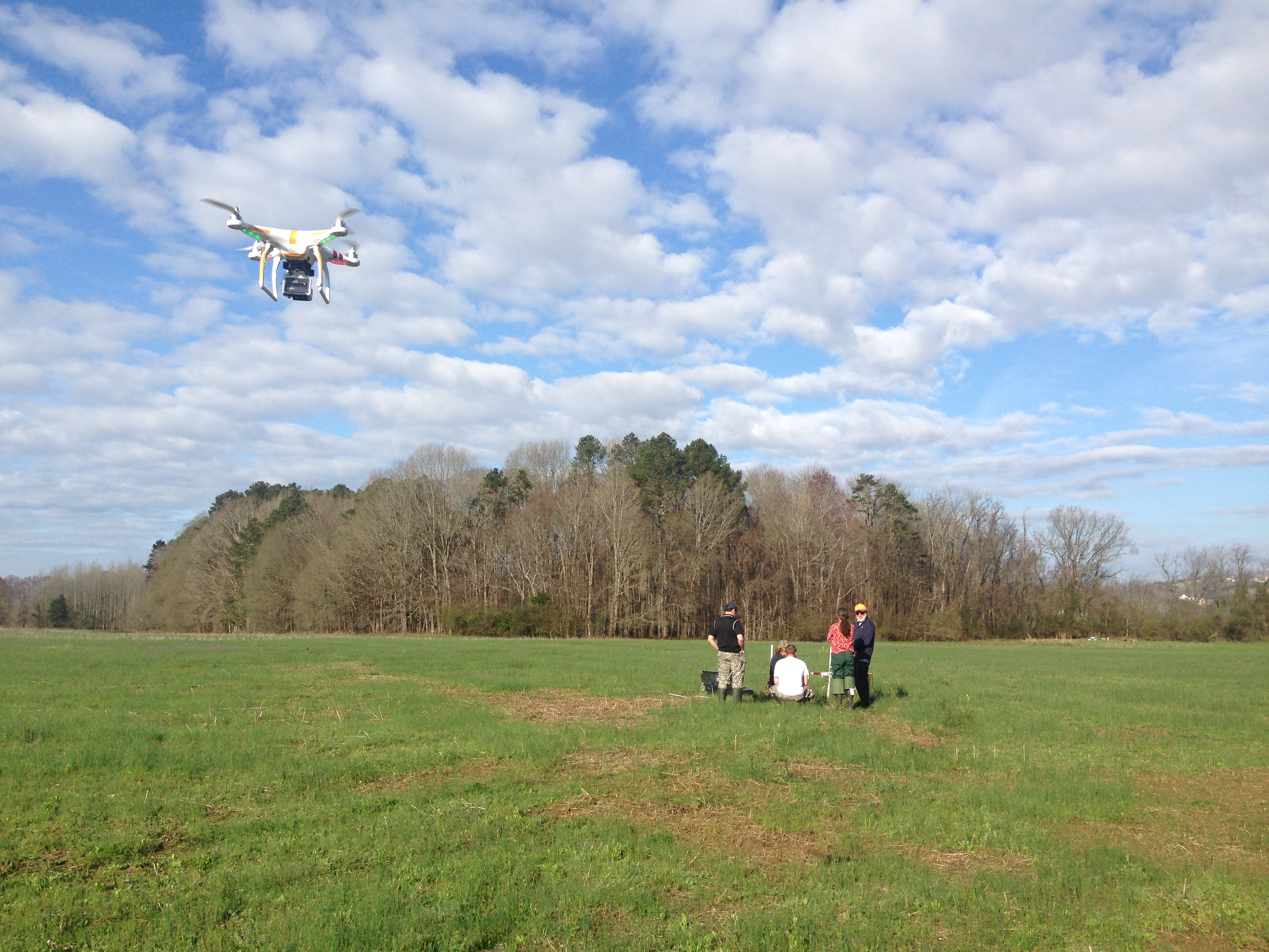 archaeology with drone