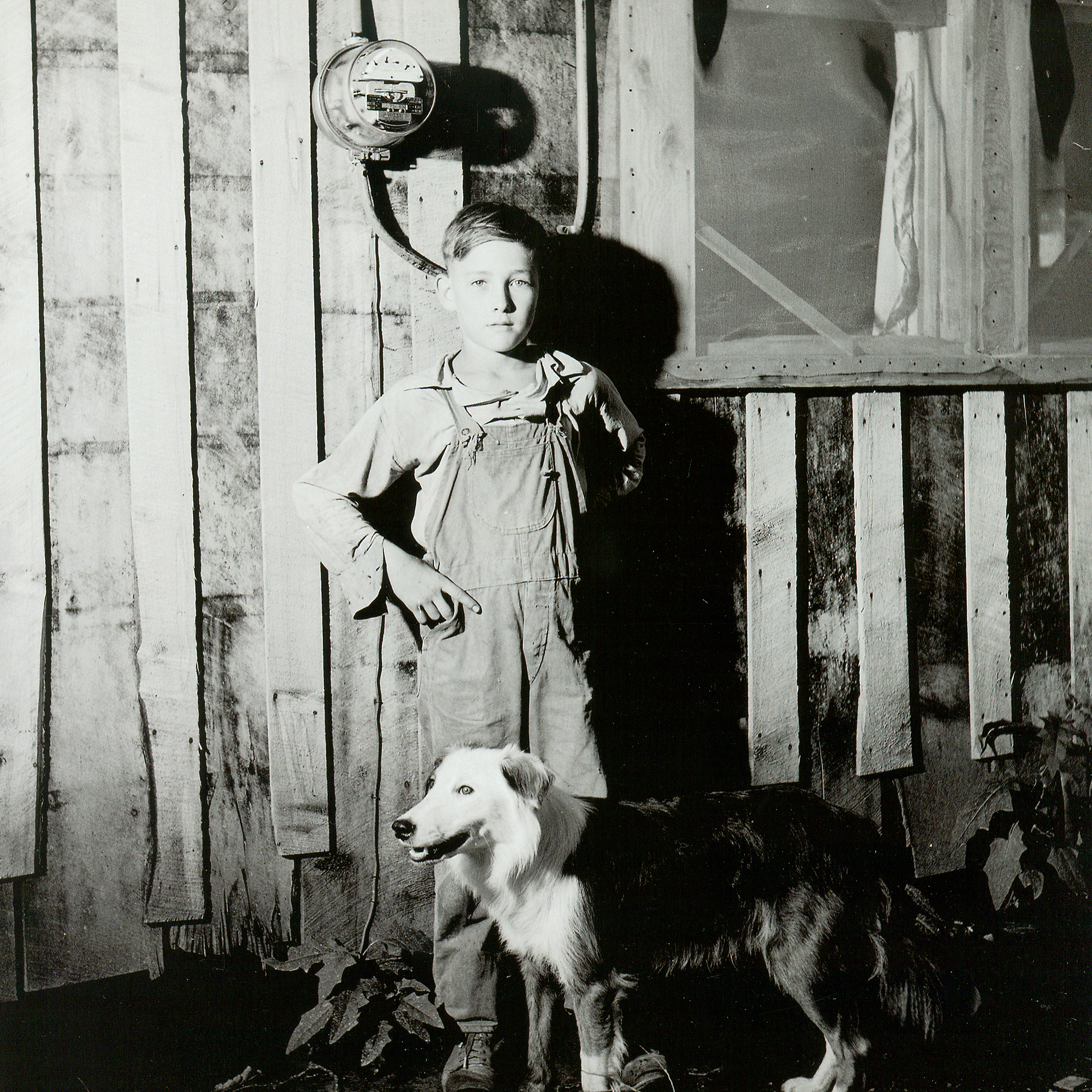 Boy with Meter Box